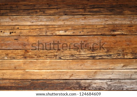 textured wood on a mountain...