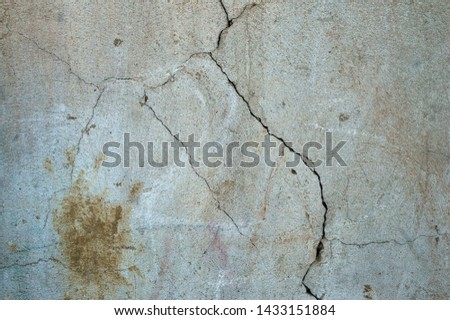 Textures cracked wall and floor with cracks background #1433151884