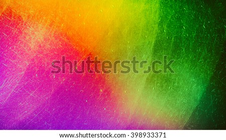 Shutterstock Textures create a sense of chaotic applying paint to the canvas.