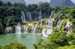 Thac Ban Gioc - Beautiful waterfall of Cao Bang, Viet Nam