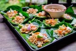 Thai appetizer called