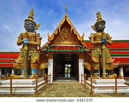 Thai Authentic Architecture in Bangkok