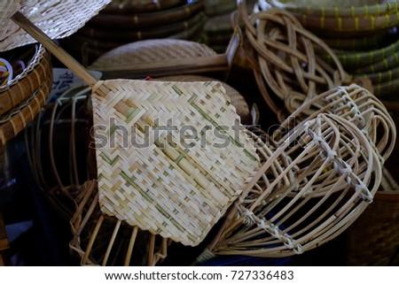 Thai basketry and weave handmade #727336483