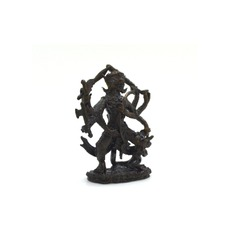 Thai Buddha amulet background,traditional culture of thailand,Hanuman King Monkey Pendant in White image background