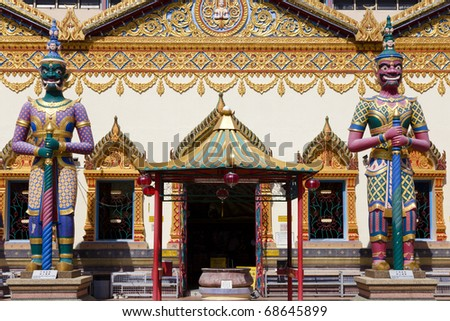 Thai-Buddhist-Temple in Penang