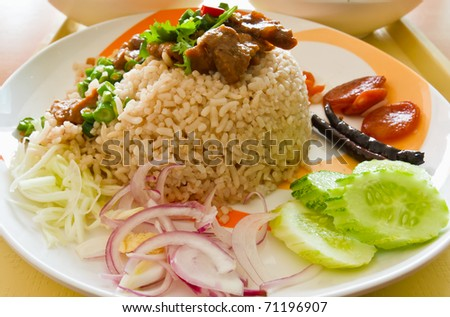 Thai cuisine - stock photo