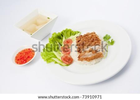 Thai cuisine , Khao man kai