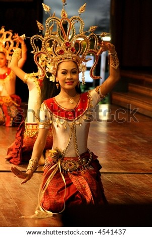 stock photo : thai cultural dance