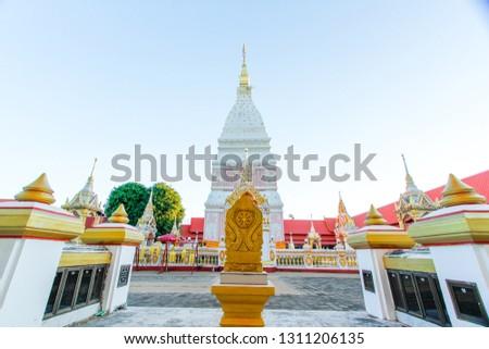 Thai culture Thai art Thai temple Bhudha #1311206135