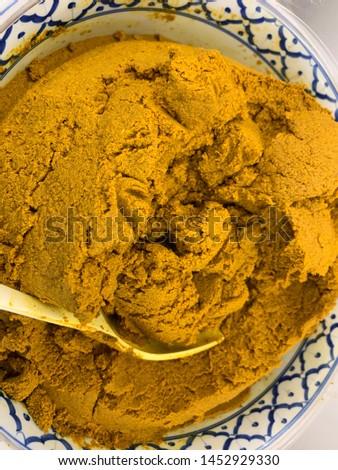 Thai curry for Thai food #1452929330