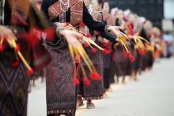 Thai dance perform