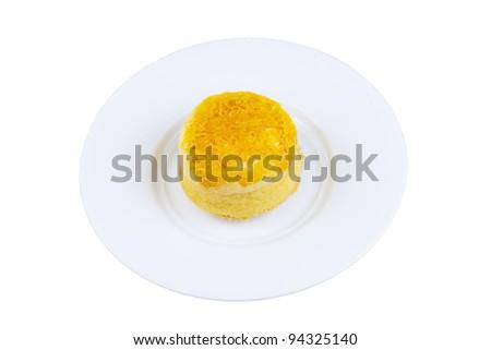 Thai desserts is golden.