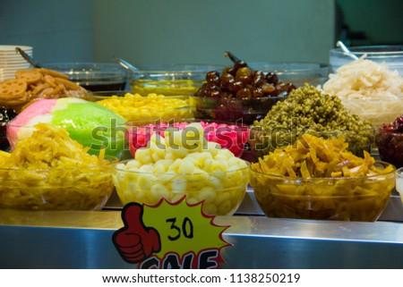 Thai Desserts,Mixed Dessert, Ice Dessert,Ruam Mit. #1138250219