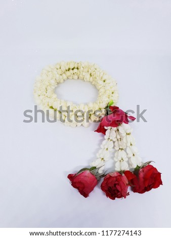 Thai floral garland #1177274143