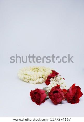 Thai floral garland #1177274167