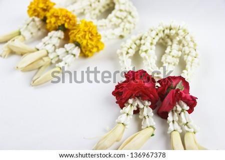 Thai Floral garland called \