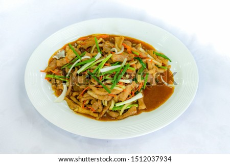 Thai food and Chinese food and  Vietnam food (International food)