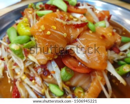 Thai food and drink zaab #1506945221