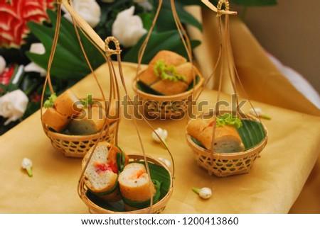 THAI FOOD And THAI DESSERTS #1200413860