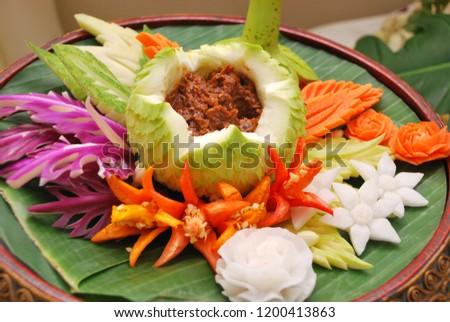 THAI FOOD And THAI DESSERTS #1200413863