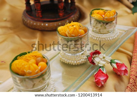 THAI FOOD And THAI DESSERTS #1200413914