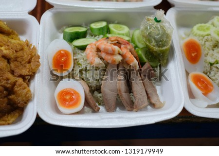 Thai food Thai market #1319179949