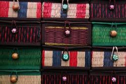 Thai Handicraft Weaving Basketry