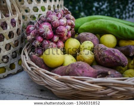 thai homegrown vegetable