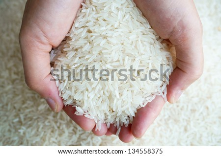 thai jasmine rice on hand.