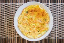 thai omlette eggs
