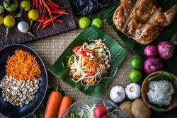 Thai papaya salad or what we call