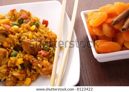 Thai peanut chicken curry with rice chinese food indian for Asian cuisine indian and thai food page