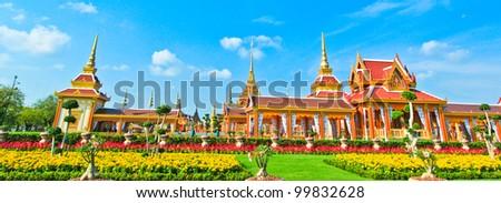Thai royal funeral.