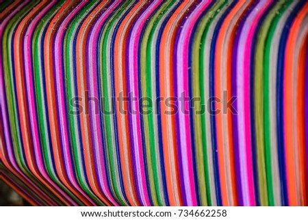 Thai silk colorful,colorful pattern,colorful background,colorful texture. #734662258