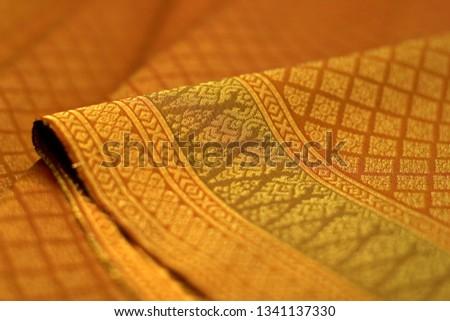 Thai Silk Pattern and Design #1341137330