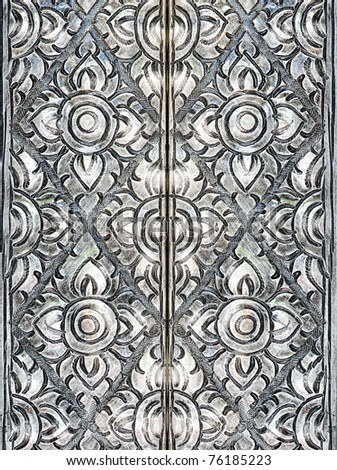 Thai silver pattern texture Crafts world. Thai Lanna style. Delicate style is timeless and powerful.