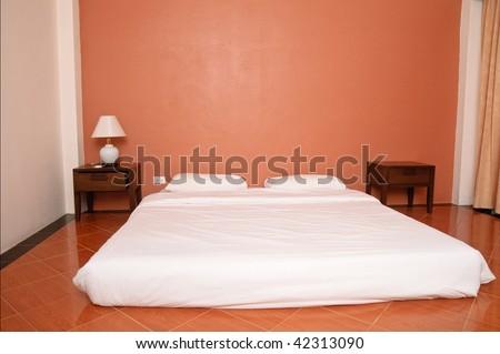 Thai stile sleeping room in a hotel