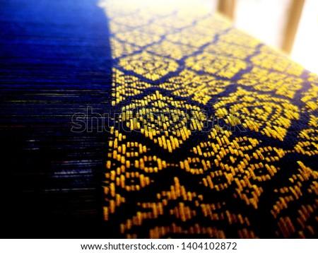 Thai striped fabric Thai striped fabric #1404102872