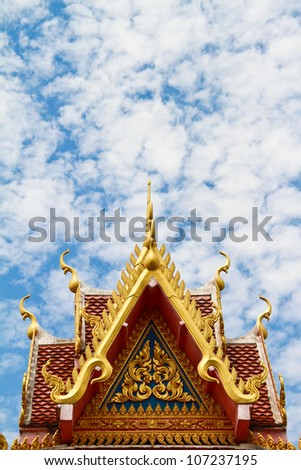 Thai temple belfry