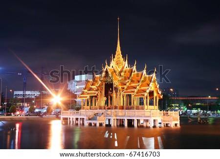Thai temple in Ramkhamhaeng University