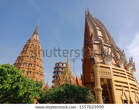 Thai temple like chinese temple and india temple #1557623900