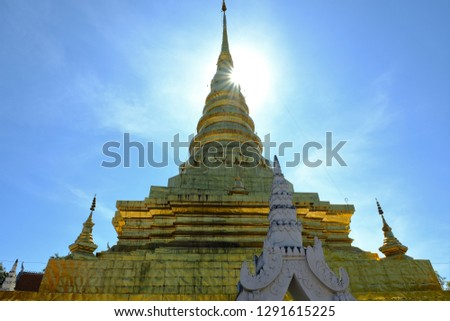 Thai Temples and Temples art