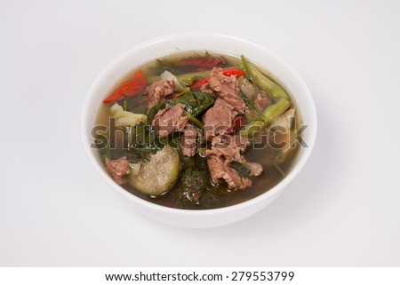 thaifood, spicy meat curry #279553799