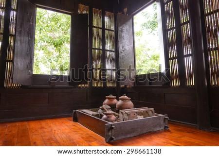 Thailand ancient kitchen