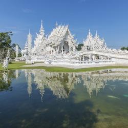 Thailand Chiengmai white temple
