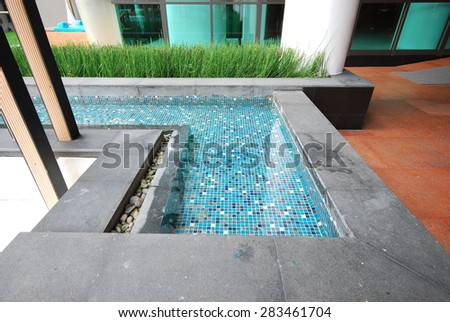 Thailand in house pool