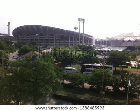 Thailand national football team stadium Rajamangala Stadium Bangkok