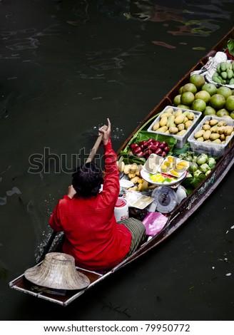 Thailand River market