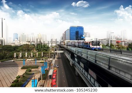 Thailand's Sky train