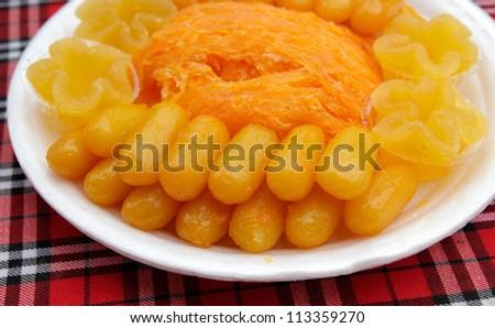 Thailand traditional sweet dessert